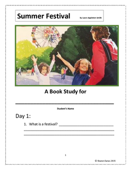 Summer Festival Book Study