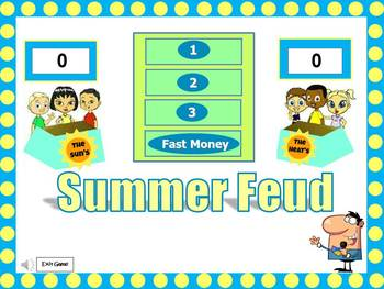Summer Feud Powerpoint Game