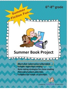 Summer Fiction Reading Unit