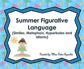 Summer Figruative Language