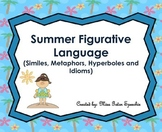 Summer Figruative Language