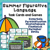 Figurative Language Games and Creative Writing Projects, Summer