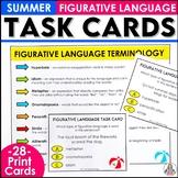 Summer Figurative Language Task Cards