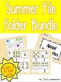 Summer File Folder Bundle for ESY