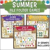 Summer File Folder Game Bundle
