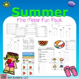Summer Fine Motor Fun Pack - Occupational Therapy