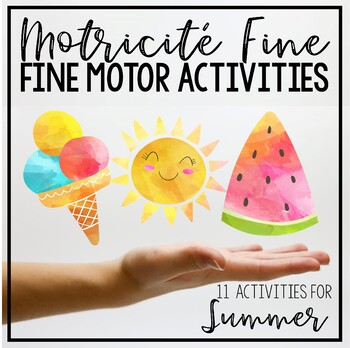 Summer Fine Motor (Motricité Fine)