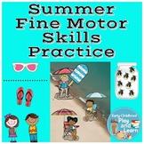 Summer Fine Motor Skills Practice