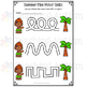 Summer Fine Motor Skills Worksheets