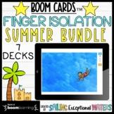 Summer Finger Isolation Boom Cards™ Bundle