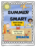 Summer - First Grade Summer Review Activity packet