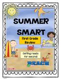 Summer - First Grade Summer Review Activity packet