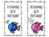 Summer Fish Bookmarks
