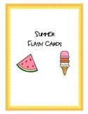 Summer Flash Cards