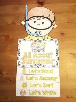 Summer Activities: Summer Reading Flip Book