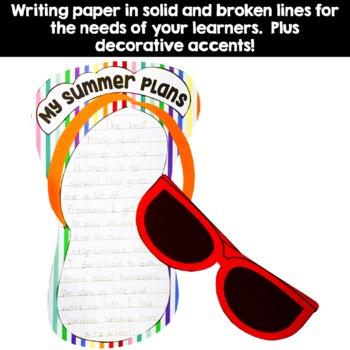 End of Year Summer Flip-Flop Beach Craft Activity