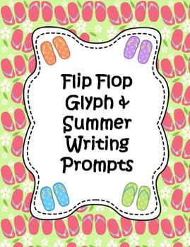 Summer Flip Flop Glyph & Writing Activities