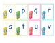 Summer 'Flip Flops' ABC and Primer Word Cards