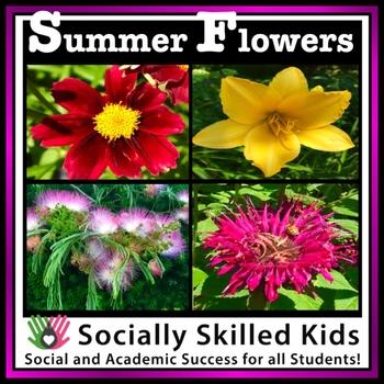 Summer Flowers {FREE}