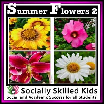 Summer Flowers {Set 2}