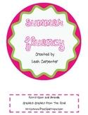 Summer Fluency