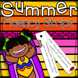 Summer Fluency Strips