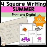 4 Square Writing:  Summer Packet