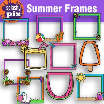 Summer Frames Clipart