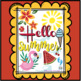 Summer Freebie!: ¡Hola verano! * Hello Summer!