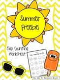 Summer Freebie! Skip Counting Worksheet