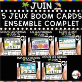 Summer French BOOM Cards - BUNDLE 5 Jeux (JUIN)