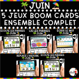 Summer French BOOM Cards - BUNDLE 5 Jeux (JUIN)