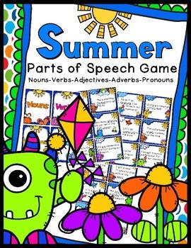 Parts of Speech - Summer