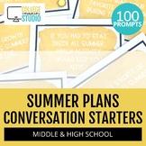 Summer Fun : 100 Icebreaker Questions