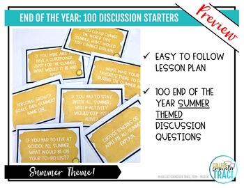 Summer Fun : 100 Icebreaker Questions