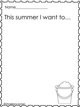 Summer Fun Activities Worksheets Activities Printables