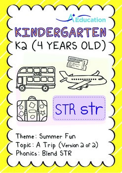 Summer Fun - A Trip (II): Blend STR - K2 (4 years old)