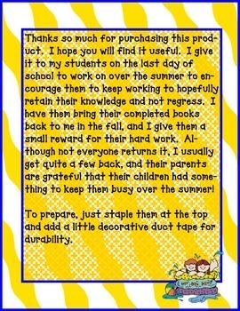Summer Fun Activity Book