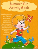 Summer Fun Activity Pack (Plus Easel Activity)