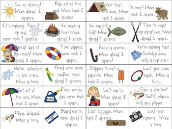 Summer Fun Activity Pack (Math and Literacy Games)