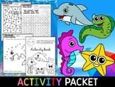 Summer Fun Activity Packet - SET TWO - Preschool and Kindergarten
