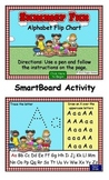 Summer Fun Alphabet Flip Chart SmartBoard Activity