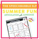 Summer Fun Articulation and Language