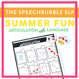 Summer Fun Articulation and Language
