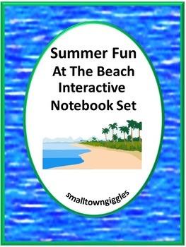 Interactive Notebook  Summer Fun At The Beach