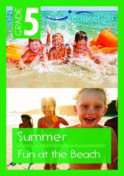 Summer - Fun At the Beach - Grade 5