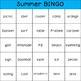 Summer Fun BINGO