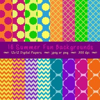 Backgrounds - Summer Fun!