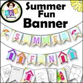Summer Fun Banners ● Beach Themed ● Classroom Banner Set