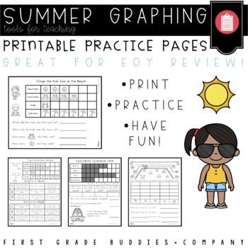 Summer Activities | Summer Math | Graphing